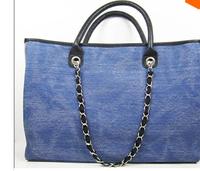 Free Shipping The new 2014 big size dition Big canvas bag handbag Top quality
