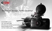 "2014 NEW Car DVR Video Recorder G10W Novatek 96650 Full hd 1080P 2.7""LCD+Night Vision+G-Sensor+H.264 Video Recorder Dash Cam"