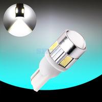 2pcs T10 led car 168 W5W for SAMSUNG 5730 smd 501 194  LED Tail Signal DRL Light Bulbs Xenon White t10 car light source