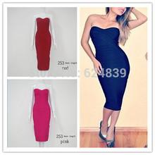 popular black knee length dress