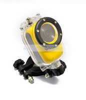 Full HD 1080P Mini Protable Wifi Sport Cam Action Camera mini DV 30M Waterproof CAM for Diving outdoor sport Yellow