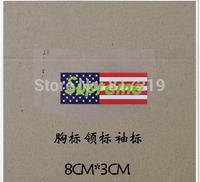 Iron on heat transfer print T shirt supreme 8*3cm(40pcs a lot)