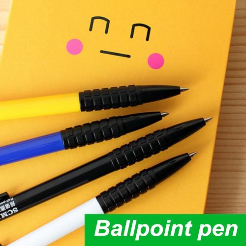 24 pcs/Lot Ballpoint pen Blue ink ballpen Classic design Caneta stationary Wholesale pen Office accessories school supplies 6284(China (Mainland))