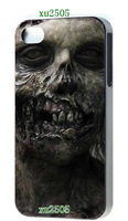 wholesale 50% off!!2014 new arrival HOT new design 1pcs walKing dead luxury Black hard case cover for iphone5 5s