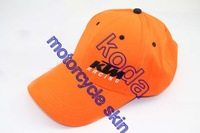 Free shiping Wholesale KTM embroidery baseball cap hat motorcycle racing cap KTM sport baseball cap Casual Cap