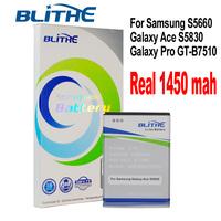 [US warehouse] Blithe SAM-EB494358VU  Real 1450mAh Battery For samsung S5830 Galaxy Ace, Galaxy Pro, GT-B7510, S5660