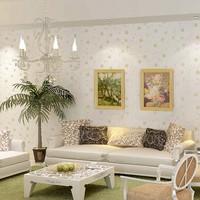 desktop vinyl wallpaper sticker tapete para sala pvc adhesive tv brief thickening papel de parede listrado floral of wall paper