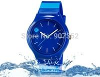 new watch Wristwatches Four Leaf Clover Design  Stripes strap fashion watch women dress watches quartz watch + free shipping