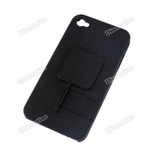 Assurance discoutine Triple 3 SIM Card Adapter Converter with Back Case Cover Stand for iPhone4 4S High Quality secure