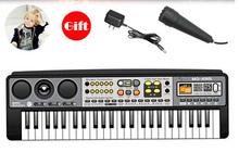 High quality Children's electronic organ multi-function mini keyboard 49keys free shipping(China (Mainland))