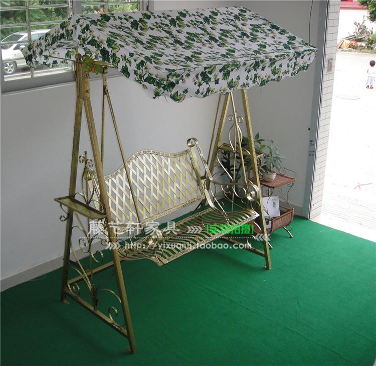 Online kopen wholesale luifel schommelstoel uit china luifel schommelstoel groothandel - Leuningen smeedijzeren patio ...
