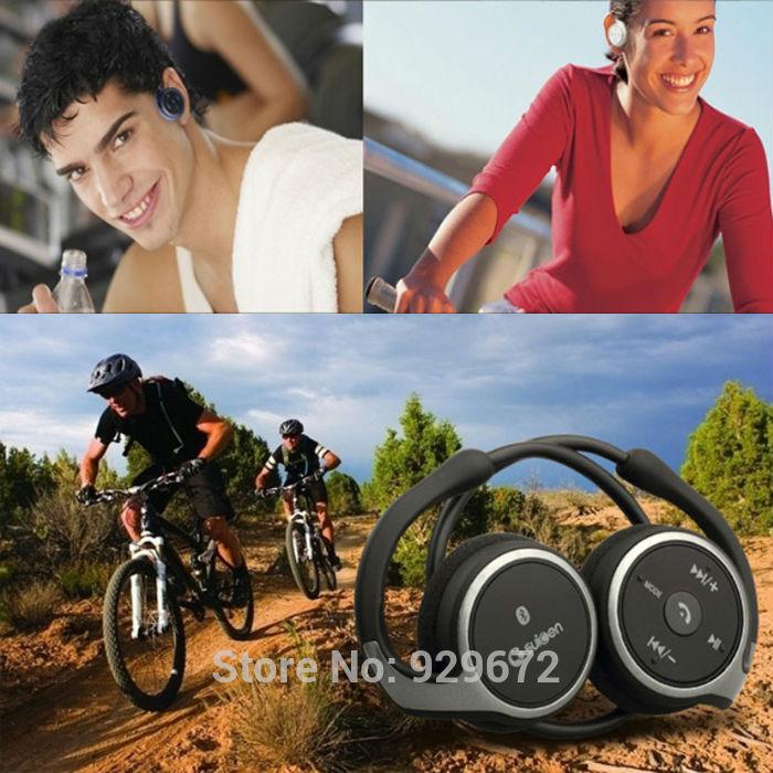 Наушники Suicen /698 Bluetooth 4.0 TF & FM Samsung Ipone5/5s Ipone4/4s AX-698