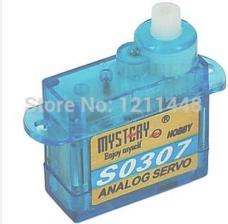 Mystery 3.7G Analog Plastic Gear Mini Servo S0307(China (Mainland))
