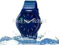 new watch Wristwatches Four Leaf Clover Design British Style fashion watch women dress watches quartz watch + free shipping