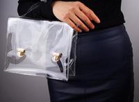 New Arrival Sac Summer Fashion Women Transparent Bag Clear Hasp Handbag Jelly Small Shoulder satchel bag Colcci Promotion