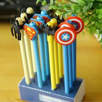 Japan and  Korea Stationery cute Superman series gel pen  36pcs/lot  free shipping