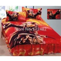Pirates of the Caribbean 3pcs Bedding Set Cartoon Cotton children Kid Bedding Free Shipping