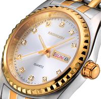 Package mail authentic Card poem diamond waterproof watch men fashion men's watch