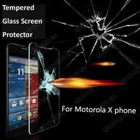 For Motorola Moto X Phone XT1058 , 2.5 D  Premium Tempered Glass guard Film Screen Protector Anti-Fingerprint Ultrathin
