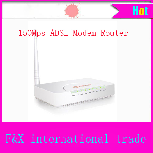 High Quality PHICOMM FAG605 Wireless Router 150Mps ADSL Modem 3G Wifi Router With 1m Cable 2pcs Telephone line Free Shipping(China (Mainland))