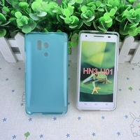 Free Shipping For huawei honour 3 Silicone Case Jelly Case Pudding Transparent Soft