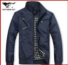 2015 men's spring autumn jacket plus size casual coat new fall Mens fashion comfortable korean Style jacket collar outerwear(China (Mainland))