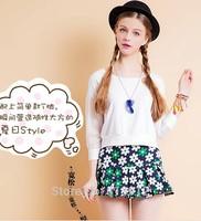 2014 summer bust skirt all-match mid waist pleated skirt sheds anti emptied short skirt female