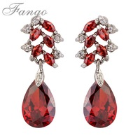 High Quali Large Crystal Pieced Drop Statement Earrings For Women Prom  Earring For Girls Fashion Jewellery Gift