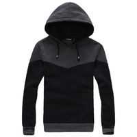 2014 Free Shipping New Men's Brand Fashion Larry Colored Pullover Sweater Coat Male Sport Hoodies Casual Jacket With A Hood