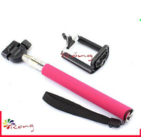 Camera Tripod Mobile phone Monopod holder  PINK for Digital Camera phone i9300 i9500 n9006 n7100 DV