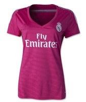 Real madrid 2014 best quality 2015 real madrid jersey BALE 11 14 15 RONALDO 7 football shirt can custom woman jersey