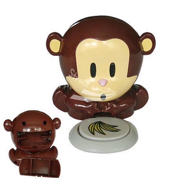 2012 free shipping Cute Unique nail dryer New Monkey Fingernails Polish Blower Dryer set + Freeshing(China (Mainland))