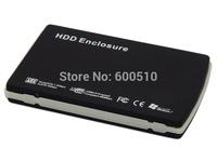 USB 2.0 External 2.5'' SATA HDD Hard Disk Drive Enclosure Aluminum Case