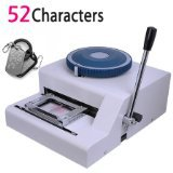 Free Shipping! Guarantee 100% New 52D PET tag Embosser,Manual dog tag embosser machine ,steel embossed machine 52Characters