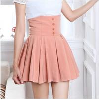 Hot 2014 New Fashion Summer Lolita Style High Waist All-match Beautiful Female Skirts