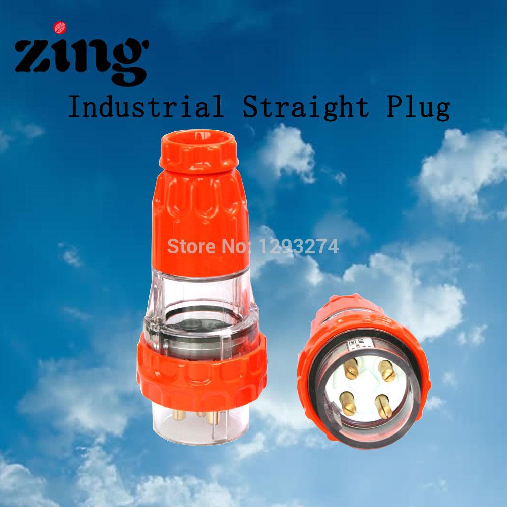 ZING ZA66P440 2014 Australian standard clipsal Waterproof Industrial plug IP66 4 Round pin(China (Mainland))