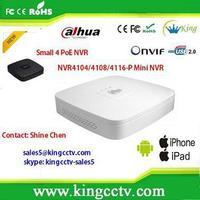 new arrival dahua nvr white & black NVR4108-P 8CH Smart 1U 4POE Network Video Recorder nvr kit