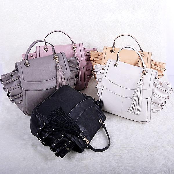 AliExpress.com Product - 2014 New Women's Satchel Classic Tote Tassel Handbag Shoulder bag Purse Tote Famous Brands Bag Free Shipping