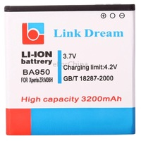 Link Dream High Quality 3200mAh Battery for Sony Xperia ZR M36h / C5502 / C5503 (BA950)