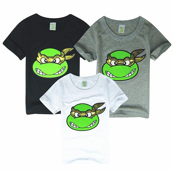 Bambini tees abbigliamento bambini, 100% cotone estate ragazzi t shirt camicia bambino teenage mutant ninja turtles bambini abbigliamento top, ingrosso