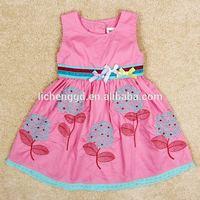 nova brand kids girl princess dress new 2014 baby girl clothes with bow baby & kids dresses meninas vestir casual dress H4873