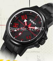 2015 Real Sale Watches Men Militray Watch Tritium Light Luminous Waterproof 5atm Calendar Quartz Full Steel Sports Fashion Odm
