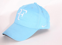 2014 Limited edition latest! Roger Federer Cap Tennis Hat Black / Red / White / Blue and Yellow