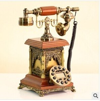 Antique telephone gift fashion phone antique resin antique telephone free shipping Fast delivery