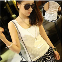 FREE SHIPPING Summer Lady's Vest Show Thin Sexy Tank Tops Women's Sleeveless T-shirt  For Women Tanks Tops Girl B350