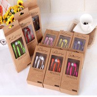 400pcs In-Ear Stereo Headset Earphone for Samsung Galaxy S4 SIV i9500 handsfree with retail package, Free shipping
