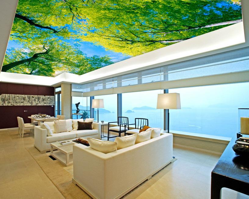 Online Kaufen Gro 223 Handel Blue Sky Mural Aus China Blue Sky