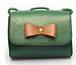 Fashion bowtie small bag high quality PU leather messenger bags designer cross body bags ladies mini bags trendy clutch purses