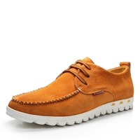 2014 Hot new men's fashion European Style men Genuine leather casual shoes