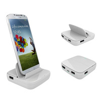 Multifunctional HDMI charger dock for Galaxy Note 3 N9005 S4 i9500 S3 i9300 Note2 N7100  free shipping
